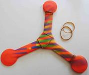 boomerang explanation rubber bands